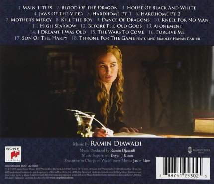 Soundtrack Ramin Djawadi: Game Of Thrones, Season 5 (CD)