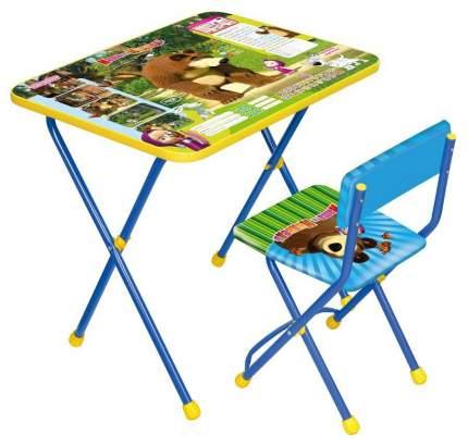 Комплект детской мебели Ника Познайка Азбука 2: Маша и Медведь КП2