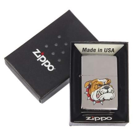 Бензиновая зажигалка Zippo Classic 250 Mean Dog High Polish Chrome