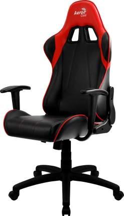 Игровое кресло AeroCool AC100 AIR, черный/красный