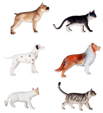 Набор фигурок 1 TOY Собаки и кошки 16 шт х 15 см