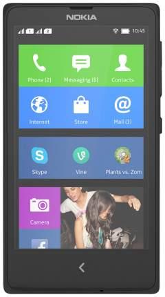 Смартфон Nokia X Dual SIM 4Gb Black