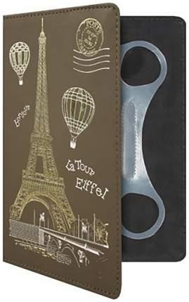 """Чехол для электронной книги Vivacase Paris 7"""" коричневый (VUC-CPR07-br)"""