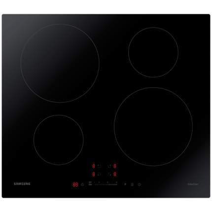 Встраиваемая варочная панель индукционная Samsung NZ64H37070K Black