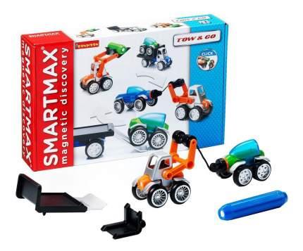 Магнитный конструктор smartmax/ Bondibon специальный (special) набор: автотехника