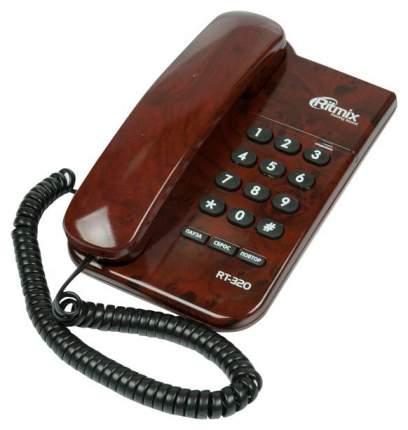 Телефон проводной Ritmix RT-320 Coffee Мarble