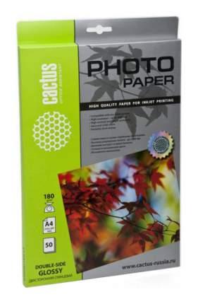 Фотобумага для принтера A4 Cactus CS-GA418050DS 180г/кв.м глянцевое покрытие 50 л