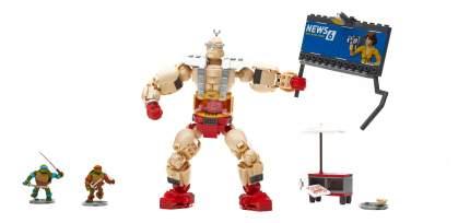 Конструктор пластиковый Mega Bloks® Игровой набор крэнг против черепашек DMW32