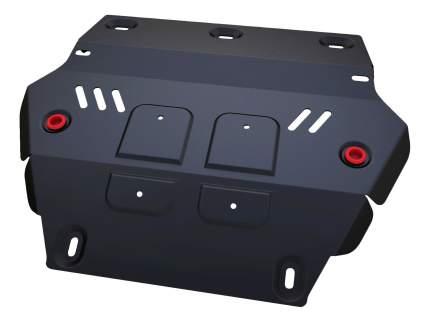 Защита радиатора АвтоБРОНЯ для Isuzu (111.09101.1)