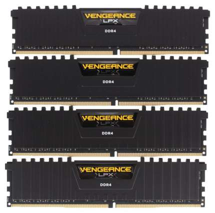 Оперативная память Corsair VENGEANCE LPX CMK64GX4M4A2400C16
