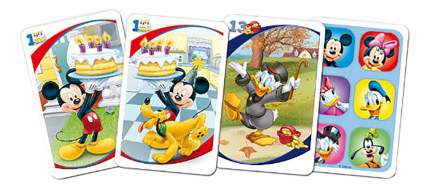 Карточная игра Акулина (25 карт) - Старый друг Микки Маус