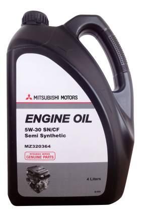 Моторное масло MITSUBISHI Engine Oil Semi-Synthetic SN/CF SAE 5W-30 (4л)