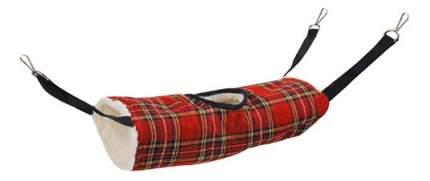 Тоннель для грызунов Triol текстиль, 17х35 см, цвет красный