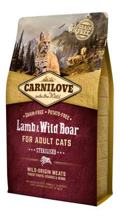 Сухой корм для кошек Carnilove Sterilised, для стерилизованных, ягненок, 6кг