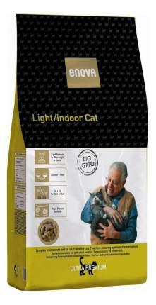Сухой корм для кошек ENOVA Light/Indoor, для склонных к ожирению, курица, 0,4кг
