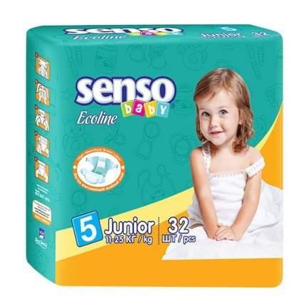 Подгузники Senso Baby Ecoline Junior (11-25 кг), 32 шт.
