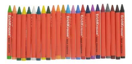 Восковые мелки ErichKrause Восковые мелки 24 цвета