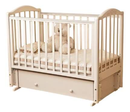 Кровать Красная Звезда Руслан слоновая кость