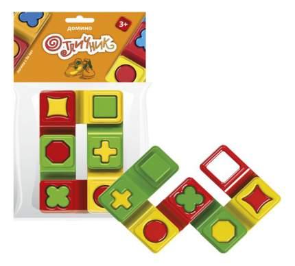 Семейная настольная игра Биплант Домино Биплант Отличник 12025 6 Фишек