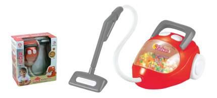 Пылесос игрушечный красный