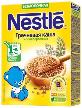 Каша безмолочная гречневая Nestle гипоаллергенная 200г