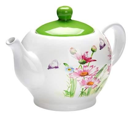 Заварочный чайник LORAINE Цветы 950 мл LR (х16)