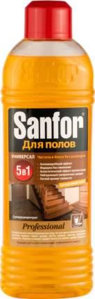 Универсальное чистящее средство для мытья полов Sanfor суперконцентрат 920 мл