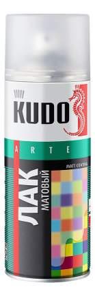 Лак универсальный KUDO KU9004 акриловый матовый 520 мл