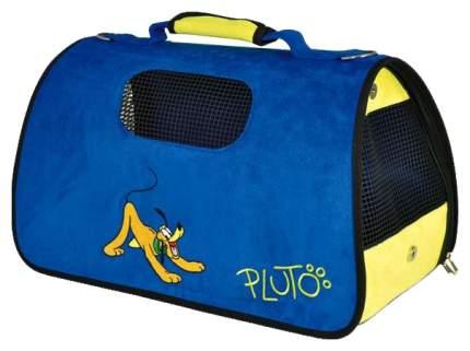 Переноска Triol Disney Pluto 50x50x29см WD3008 синий, желтый