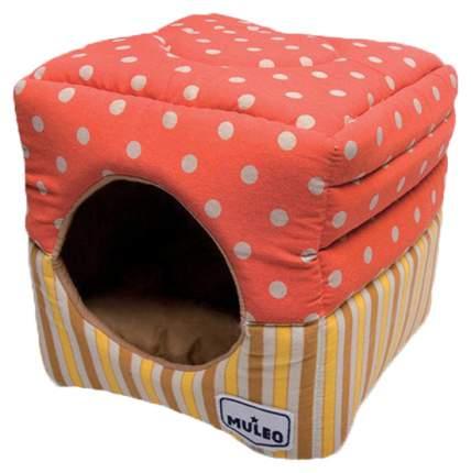 Домик для кошек Katsu Мулео M оранжевый