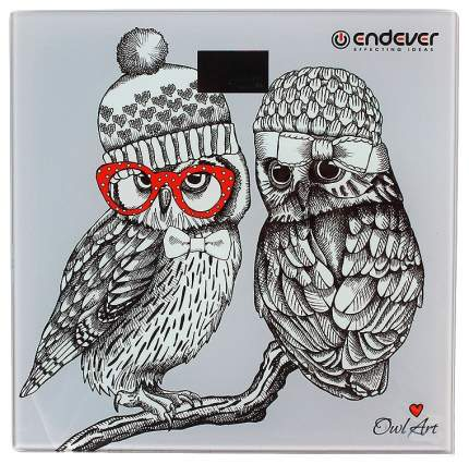 Весы напольные Endever Aurora-549 Рисунок, серый