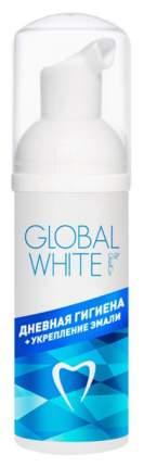 Пенка для полости рта Global White Дневная гигиена + укрепление эмали 50 мл