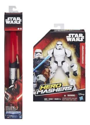 Колющее и режущее игрушечное оружие Hasbro Star Wars Световой Меч красный