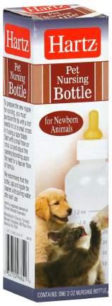 Бутылочка с соской для щенков и котят Hartz, пластик, 55 мл