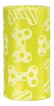 Пакеты для собачьих экскрементов TRIXIE 4 рулона по 20 шт, желтые