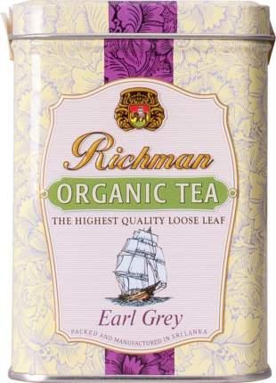 Чай черный Richman organic earl grey 100 г