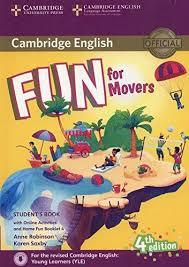 Fun for Movers 4Ed SB + Online Activ+Audio + Home Fun Booklet