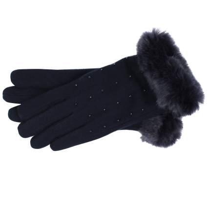 Женские синие перчатки Pia Rossini Charlie_navy