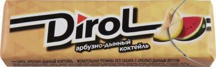 Жевательная резинка Dirol арбуз-дыня 13.6 г