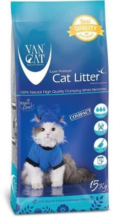 Наполнитель Van Cat комкующийся 15 кг без запаха