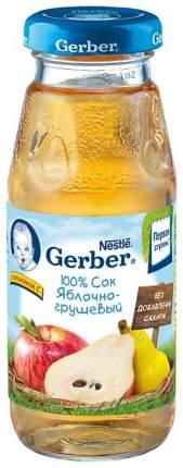 Сок Gerber Яблочно-грушевый с 4 мес 175 мл