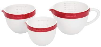 Набор форм KitchenAid KBLR03NBER Белый, красный