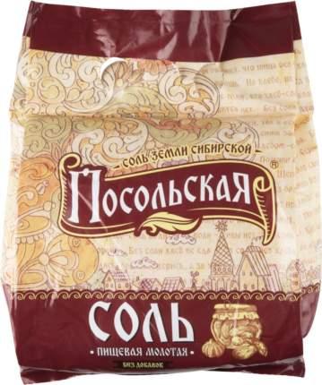 Соль пищевая Посольская крупная 2.5 кг