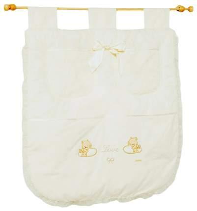 Текстильный карман в детскую кроватку Italbaby Love 710,0040-