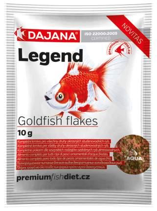 Корм для рыб Dajana LEGEND GOLDFISH FLAKES, хлопья, 80 мл
