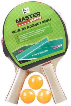 Игровой набор с ракетками Gratwest для игры в пинг понг 2 ракетки 3 шарика от 5 лет Т18492