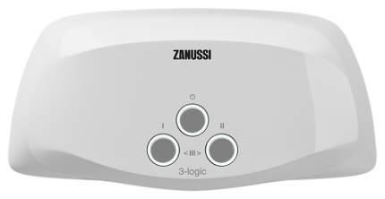 Водонагреватель проточный Zanussi 3-logic 5.5 S (душ) white