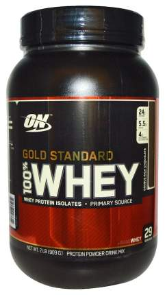 Протеин Optimum Nutrition 100% Whey Gold Standard, 908 г, double rich chocolate