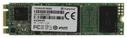 Внутренний SSD накопитель Transcend MTS820 240GB (TS240GMTS820S)