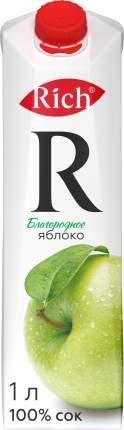 Сок Rich благородное яблоко 1 л